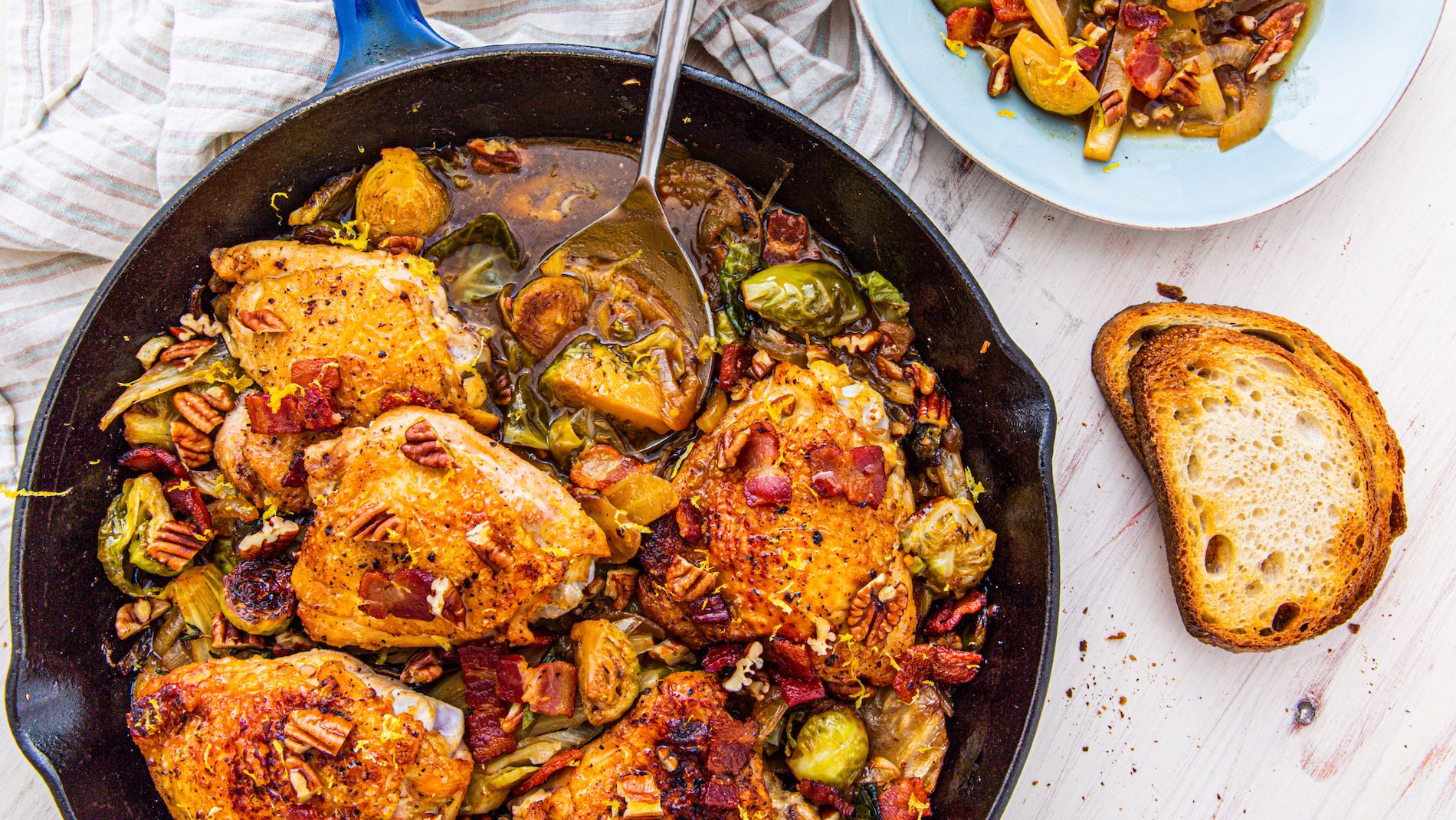 Bacon Harvest Chicken Skillet Is The Perfect Fall Dinner
