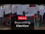 Boycotting Election