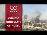 China Consulate In Karachi Attacked