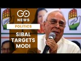 Sibal Flays PM For Comment On Gandhis