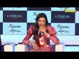 Deepika Padukone unveils L'Oréal Paris Cannes collection 2017- Part- 2   SpotboyE