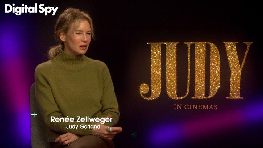Renee Zellweger on playing Judy Garland