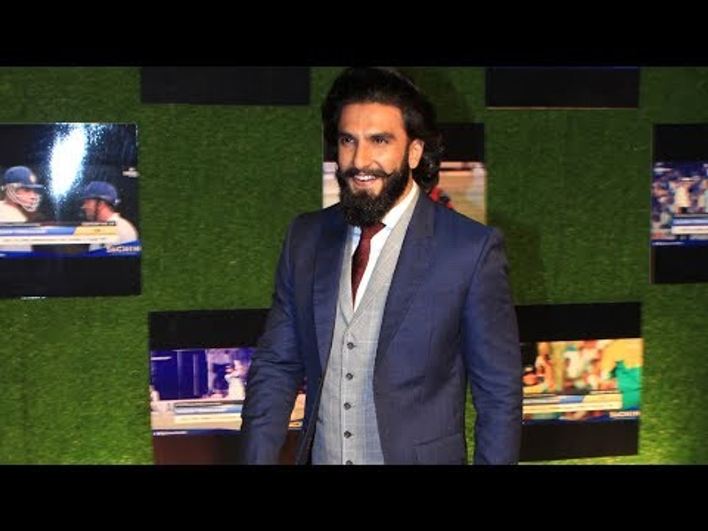 Ranveer Singh at Sachin: A Billion Dreams Premiere | SpotboyE