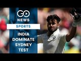 India Declare At 622/7 At Sydney