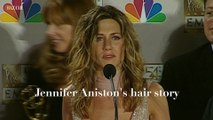 Jennifer Aniston's hair story