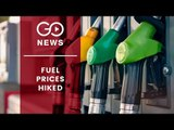 Fuel Price Hiked