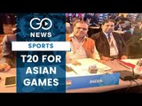 Cricket To Make Asiad Re-Entry