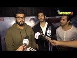 Arjun Kapoor, Varun Dhawan, Mohit Marwah, Jimmy Shergill at the Screening of Raag Desh | SpotboyE