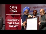 Manmohan On Indo-Pak: Fight Poverty