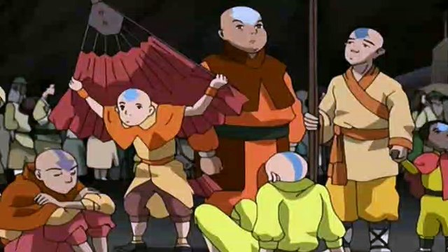 Avatar: The Last Airbender S02E12  Journey to Ba Sing Se, Part 1 - The Serpent's Pass- The Last Airbender S02E12