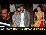 Salman Khan, Aamir Khan, Jacqueline Fernandez, Shilpa Shetty at Sanjay Dutt's Diwali Party 2017