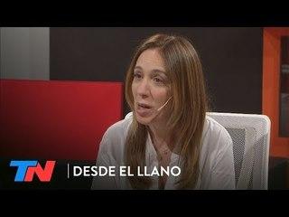 María Eugenia Vidal en DESDE EL LLANO