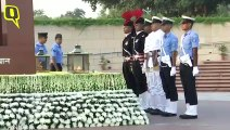 Three Forces Chiefs Pay Tributes on 87th IAF Day at National War Memorial