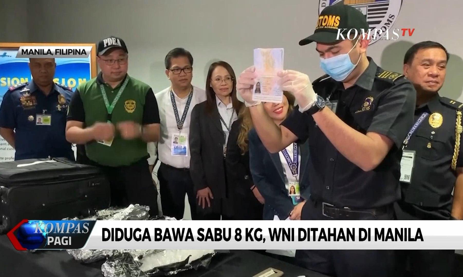 Diduga Bawa Sabu 8 Kg, WNI Ditahan di Manila