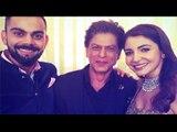 Virat and Shahrukh Does Jab Tak Hai JAAN | Anushka Kisses Virat at Mumbai Reception