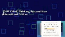 [GIFT IDEAS] Thinking, Fast and Slow (International Edition)