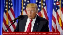 USA : Donald Trump dans la tourmente