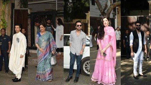 Anand Ahuja & guests arrive at Sonam Kapoor's house for Mehendi | Shanaya Kapoor | Karan Johar