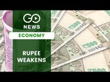 Rupee Touches It's Lowest Mark In Six Months