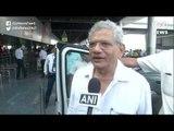 Sitaram Yechury Reaches Kashmir to meet Yusuf Tarigami