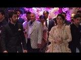 Ranbir kapoor with Mom Neetu Kapoor & Ayan Mukherjee Arrive for Akash and Shloka's Engagement