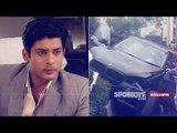 Actor Siddharth Shukla Crashes BMW Into 3 Cars, Mumbai Road Divider | SpotboyE