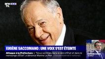 Eugène Saccomano, immense voix du football, est mort lundi à l'âge de 83 ans