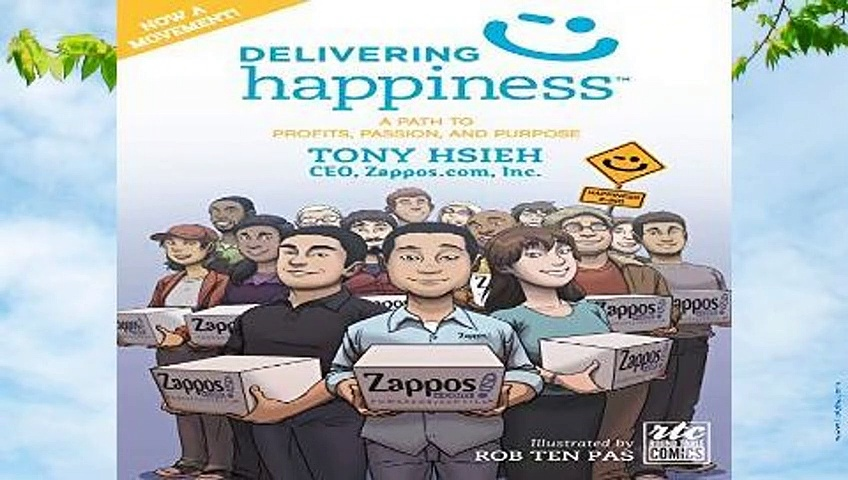 Online Delivering Happiness: A Path to Profits, Passion, and Purpose; A Round Table Comic  For