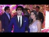 Aryan Khan Poses For Shutterbugs with Mom Gauri Khan at Akash Ambani's Engagement | SpotboyE