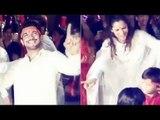 Ganesh Chaturthi 2018: Ankita Lokhande And Arjun Bijlani Dance To Zingaat During Ganpati Visarjan