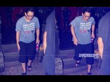 Aamir Khan Spotted Limping After A Spa Session | SpotboyE