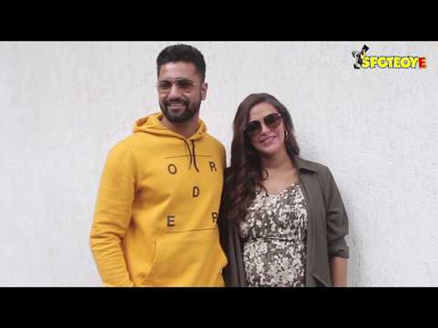 Spotted: Neha Dhupia and Vicky Kaushal before the recording of 'No filter Neha' Season 3