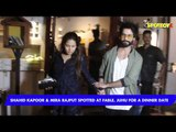 Shahid Kapoor & Mira Rajput Spotted At Fable, Juhu For A Dinner Date