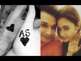 Sonam Kapoor-Anand Flaunt Their 1ST Karwa Chauth Mehendi; Prince Narula Puts It On Yuvikas Hands