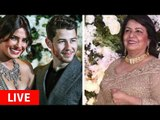 Mommy Madhu Chopra ARRIVES At Priyanka Chopra And Nick Jonas' Bollywood Reception