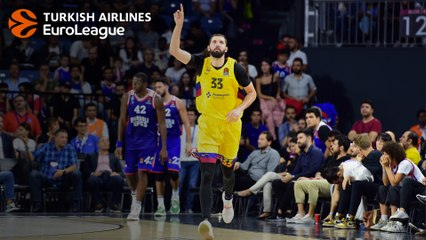 Back on track: Nikola Mirotic, Barca