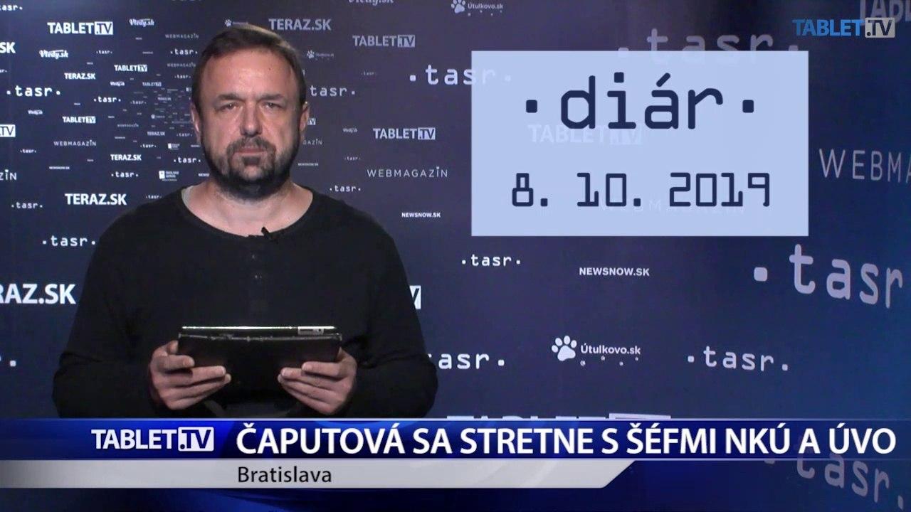 DIÁR: Prezidentka Z. Čaputová prijme šéfov NKÚ a ÚVO