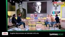 Zap sport du 8 octobre : Eugène Saccomano, grande voix du sport, est mort (vidéo)
