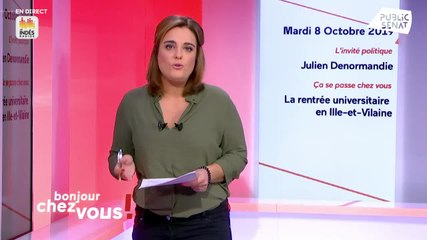 Julien Denormandie - Public Sénat mardi 8 octobre 2019