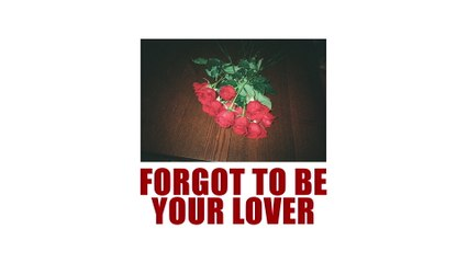 Vargas & Lagola - Forgot To Be Your Lover
