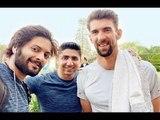 WOW! Fanboy Ali Fazal Trains With Olympian Michael Phelps In Delhi