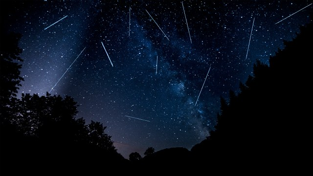 Back-To-Back Meteor Showers Will Light Up The Night Sky This Week