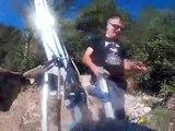 On a testé pour la tyrolienne du lac sur les hauteurs de Toulon