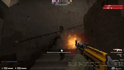Temps fort CSGO | Doublette a AK47