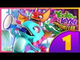 Yooka-Laylee and the Impossible Lair Part 1 (PS4) 100% Walkthrough Intro + Level 1 & 2