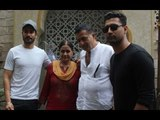Vicky Kaushal Arrives for Lunch with Parents and Brother Sunny Kaushal | SpotboyE