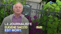 Décès de Eugène Saccomano : qui était ce célèbre journaliste ?