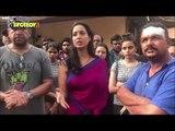 Mahie Gill and Karishma Sharma attacked on set of ALTBalaji's Fixer | SpotboyE