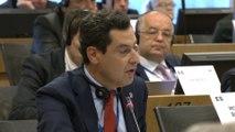 Moreno defiende la distribución de los fondos de cohesión