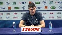 Pavard «Giroud, quelqu'un d'important dans le groupe» - Foot - Bleus